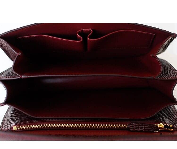 New Genuine Leather Women's Bag Fashion Crossbody Bags For Ladies Messenger Bags Luxury Designer Crocodile Tote Q0279