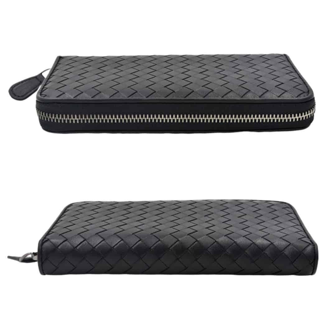 Long handwoven wallet