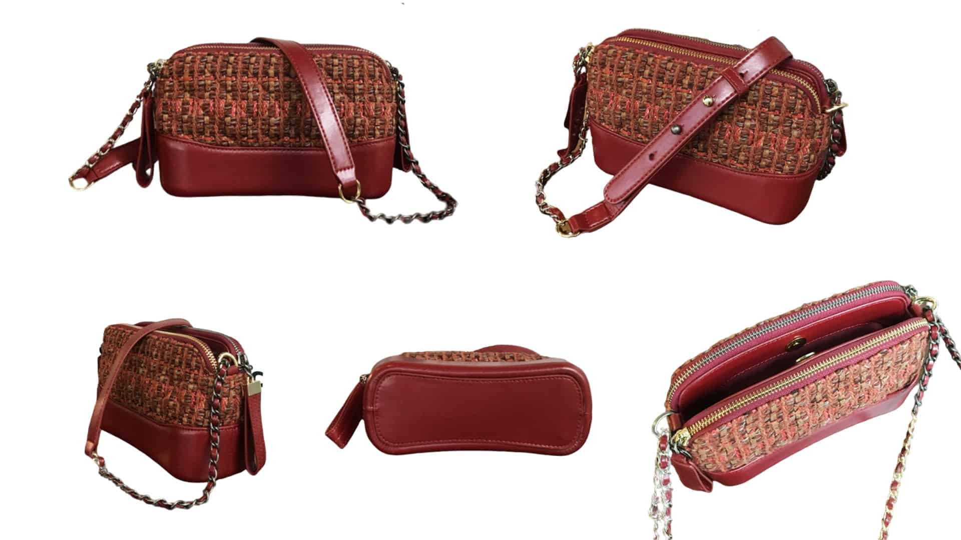leather bag special gift net